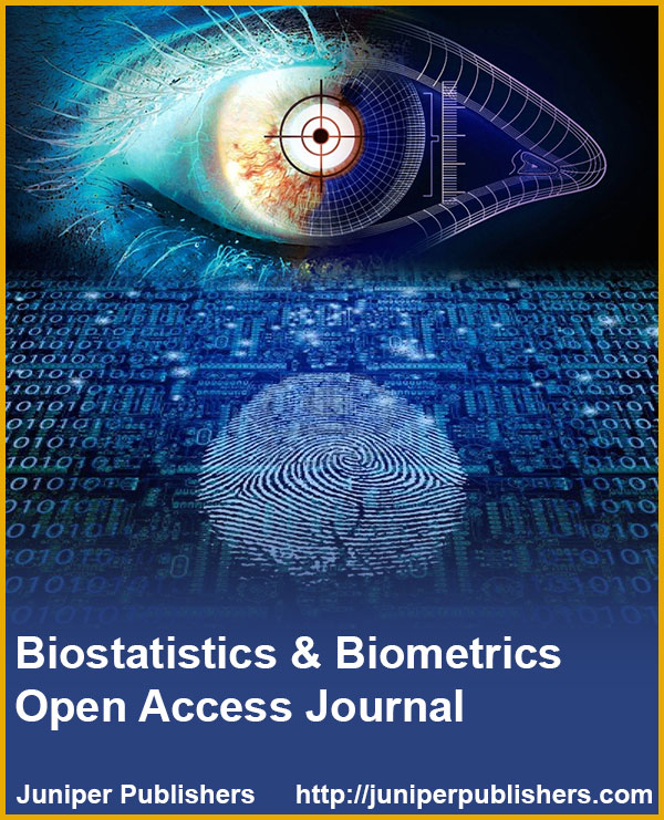 Juniper Publishers Biostatistics and Biometrics Open Access Journal