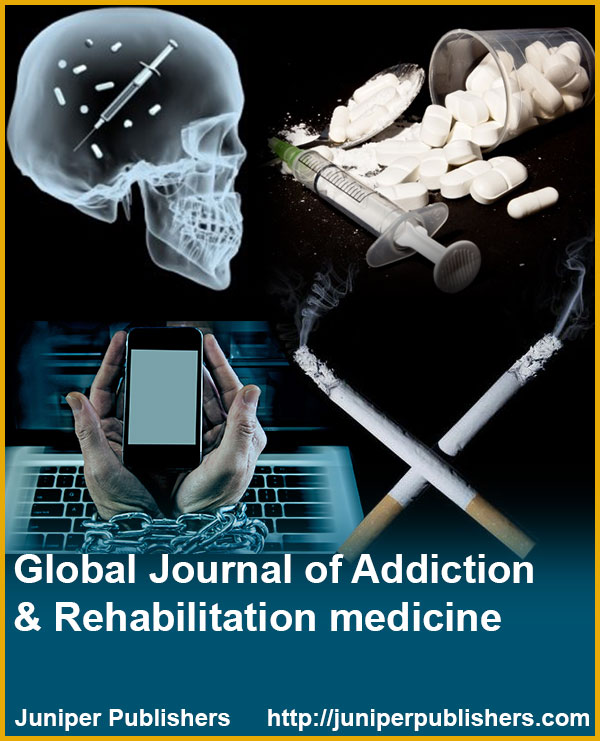 Juniper Publishers Global Journal of Addiction & Rehabilitation Medicine