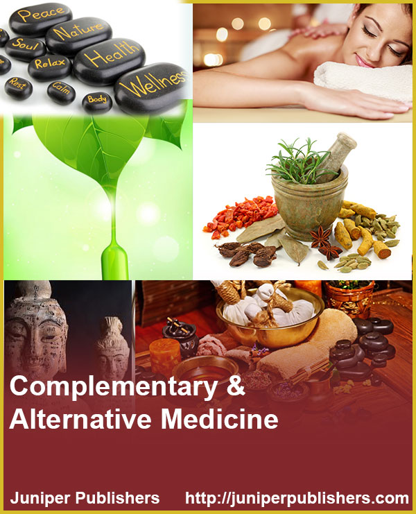 Juniper Publishers Journal of Complementary Medicine & Alternative Healthcare