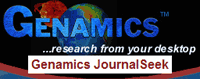 Genamics journal seek